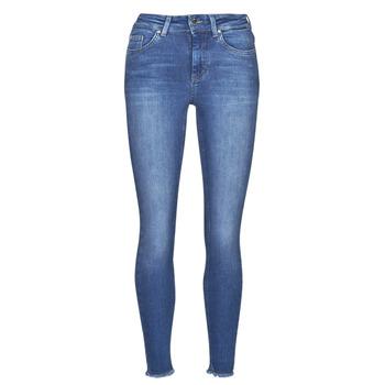 Textil Mulher Calças de ganga slim Only ONLBLUSH Azul