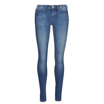 Textil Mulher Calças de ganga slim Only ONLSHAPE Azul