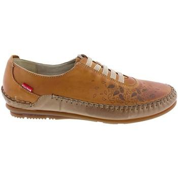 Sapatos Mulher Sapatilhas Fluchos Zapatos  F1181 Cuero Castanho