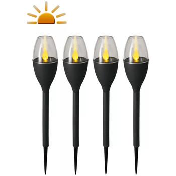 Casa Candeeiros de exterior Luxform Iluminação mini estacas Cinzeto