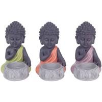 Casa Estatuetas Signes Grimalt T-Light Buddha Em Setembro De Menina 3U Multicolor