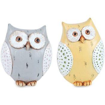 Casa Estatuetas Signes Grimalt Owl Setembro Unidades 2 Multicolor