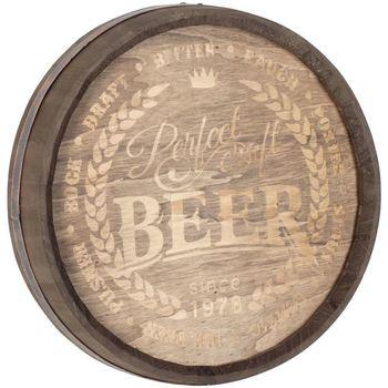Casa Decorações festivas Signes Grimalt Parede Ornamento Beer Marrón