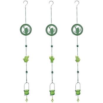 Casa Decorações festivas Signes Grimalt Pingente Cactus T-Lite 3U Verde