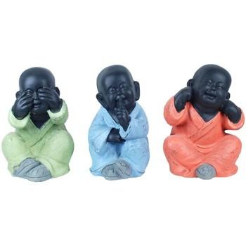 Casa Estatuetas Signes Grimalt Buddha Setembro Unidades 3 Multicolor