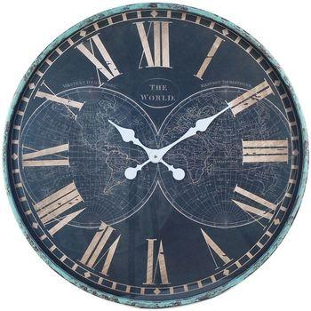 Casa Relógios Signes Grimalt Relógio De Parede Azul