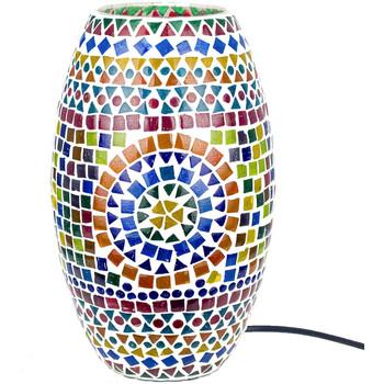 Casa Lâmpadas Signes Grimalt Mosaico Da Lâmpada Cilindro Multicolor