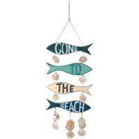 Casa Decorações festivas Signes Grimalt Pendurado Ido Para A Praia Multicolor