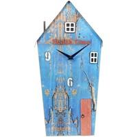 Casa Relógios Signes Grimalt Reivindicada Madeira Clock House Azul