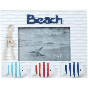 Casa Molduras Signes Grimalt Enquadrar Photo Beach Com Peixes Multicolor