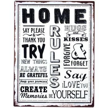 Casa Quadros, telas Signes Grimalt Home Plate Parede Multicolor