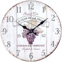 Casa Relógios Signes Grimalt Wine Wall Clock Blanco