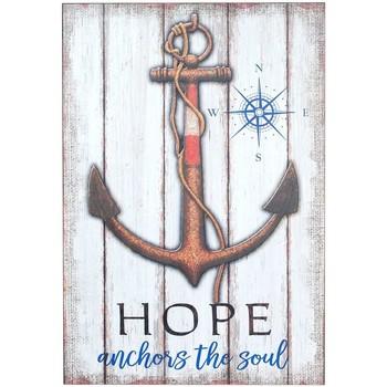 Casa Quadros, telas Signes Grimalt Tabela Parede Hope Anchor Multicolor