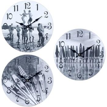 Casa Relógios Signes Grimalt Relógio De Parede Surf 3 Dif. Gris