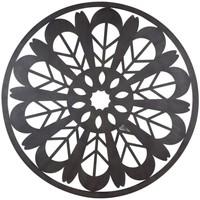 Casa Quadros, telas Signes Grimalt Parede Ornamento Mandala Negro