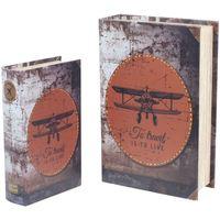 Casa Malas, carrinhos de Arrumação  Signes Grimalt Caixas Retro 2U Paper Airplane Multicolor