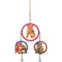 Casa Decorações festivas Signes Grimalt Pingente De Elefante Índia Multicolor