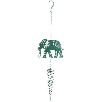 Casa Decorações festivas Signes Grimalt Pingente De Elefante Verde