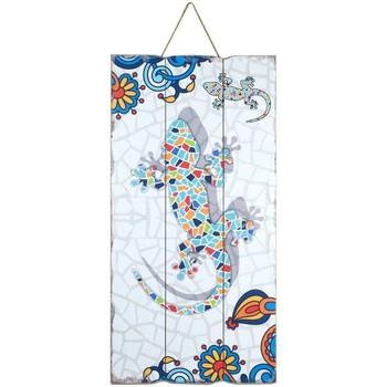 Casa Quadros, telas Signes Grimalt Parede Placa Lagarto Multicolor