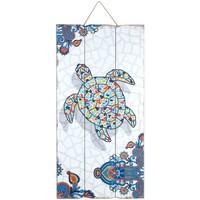 Casa Quadros, telas Signes Grimalt Turtle Placa De Parede Multicolor