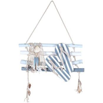Casa Quadros, telas Signes Grimalt Parede Ornamento Cotonetes Azul