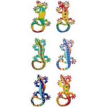 Casa Estatuetas Signes Grimalt Magnetic Lagartos 6 Dif. Multicolor