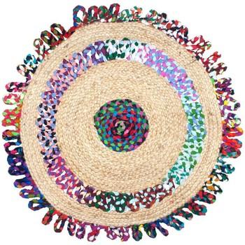 Casa Tapetes Signes Grimalt As Cores Do Tapete De Juta Multicolor