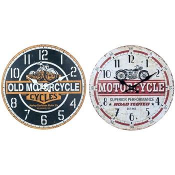 Casa Relógios Signes Grimalt Relógio De Parede Em Setembro De Motos 2U Multicolor