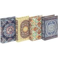 Casa Malas, carrinhos de Arrumação  Signes Grimalt Mandala Book Boxes Set 4U Multicolor