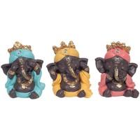 Casa Estatuetas Signes Grimalt Ganesh Não Ver-Ouvir-Falar 3U Multicolor