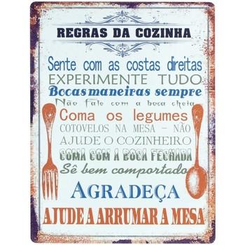 Casa Quadros, telas Signes Grimalt Parede Placas Português Naranja