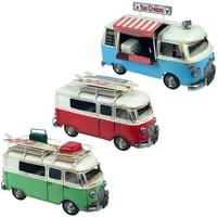 Casa Estatuetas Signes Grimalt Ônibus Set 3 Unidades Multicolor