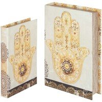 Casa Malas, carrinhos de Arrumação  Signes Grimalt Livro Fatima Mão Em Setembro 2U Beige