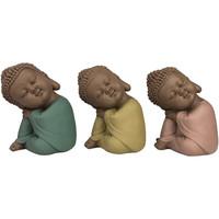 Casa Estatuetas Signes Grimalt Linda Buda Setembro 3 Unidades Multicolor