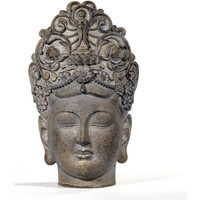 Casa Estatuetas Signes Grimalt Buda-Chefe Beige