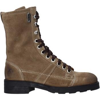 Sapatos Mulher Botas baixas OXS OXW190201 Bege