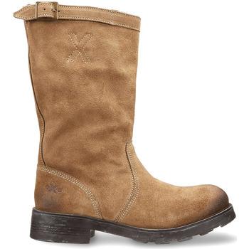 Sapatos Mulher Botas baixas OXS OXW100503 Bege