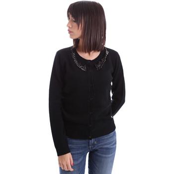 Textil Mulher Casacos de malha Animagemella 17AI060 Preto