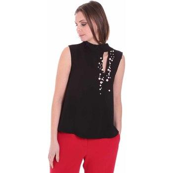 Textil Mulher Tops / Blusas Nenette 26BB-FERLY Preto