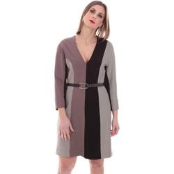 Textil Mulher Vestidos curtos Nenette 26BB-ARAS Cinzento