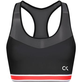 Textil Mulher Tops e soutiens de desporto Calvin Klein Jeans 00GWT9K127 Preto