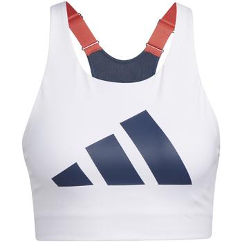 Textil Mulher Tops e soutiens de desporto adidas Originals GL0587 Branco