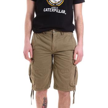 Textil Homem Shorts / Bermudas Caterpillar 35CC2820928 Verde