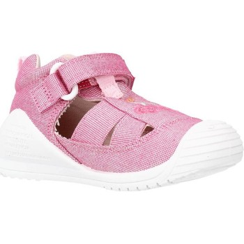 Sapatos Rapariga Sandálias Biomecanics 212213 Rosa