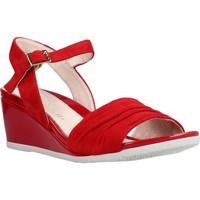 Sapatos Mulher Sandálias Stonefly SWEET III 7 GOAT S. Vermelho