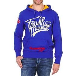 Textil Homem Sweats Franklin & Marshall SUNBURY Azul