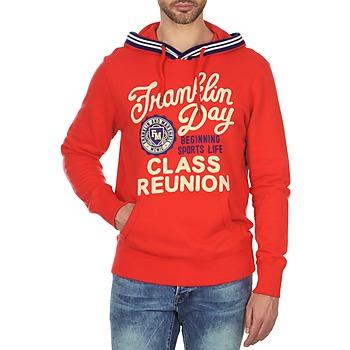 Textil Homem Sweats Franklin & Marshall GOSFORD Vermelho