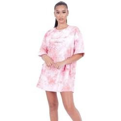 Textil Mulher Vestidos curtos Sixth June Robe femme  Tie and dye rose