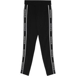 Textil Mulher Calças de treino Sixth June Legging  bande imprimée noir/blanc