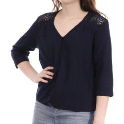 Textil Mulher camisas Teddy Smith  Azul